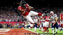 Houston NFL Super Bowl New England Patriots vs Atlanta Falcons Devonta Freeman touchdown