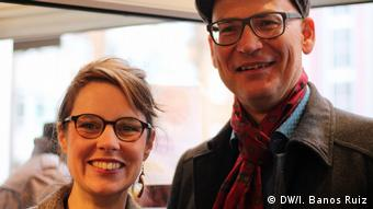 Köln The Good Food Lebensmittel Nicole Klaski Valentin Thurn (DW/I. Banos Ruiz)