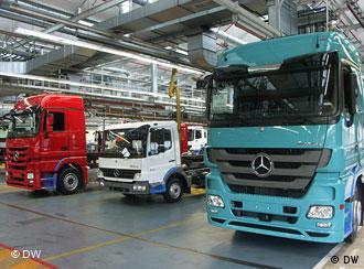 грузовики Мерседес