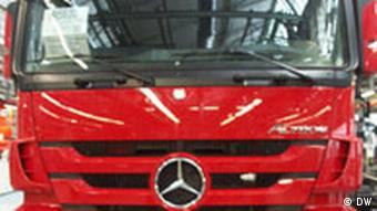 LKW Fabrik Daimler in Wörth