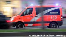 Symbolbild Feuerwehr Berlin Notarzt