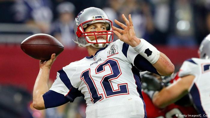 Houston NFL Super Bowl New England Patriots vs Atlanta Falcons Tom Brady (Getty Images/C. Cox)