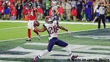 Houston NFL Super Bowl New England Patriots vs Atlanta Falcons James White Touchdown