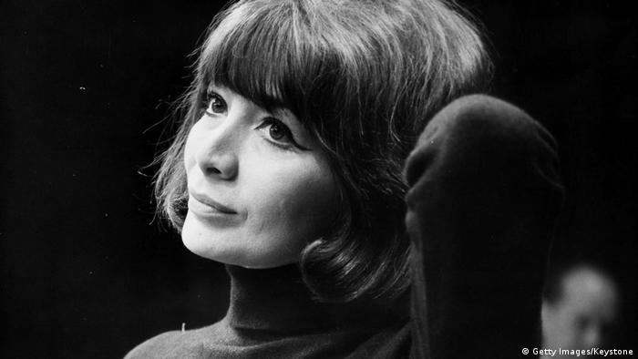 Chansonsängerin Juliette Greco 1965 (Getty Images/Keystone)