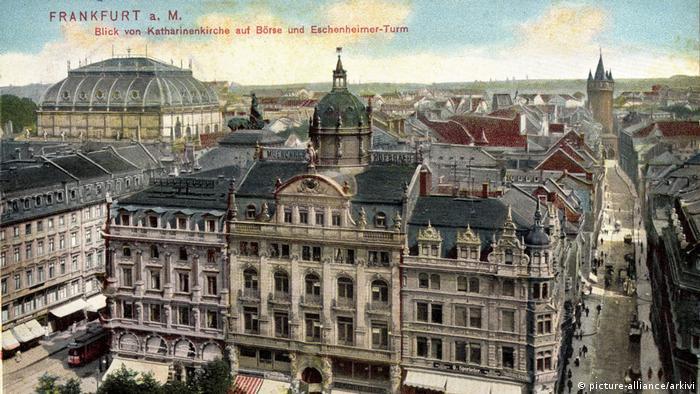 Франкфуртская биржа в 1934 году.