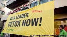 Greenpeace - PFC - Outdoorbekleidung