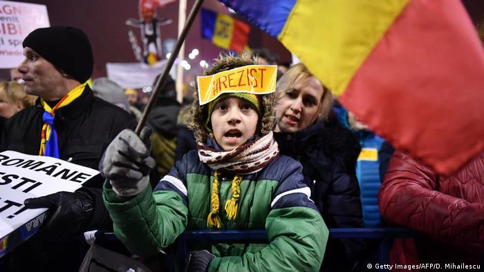 Proteste la Bucuresti in iarna 2017