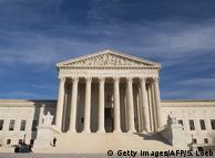 Здание Верховного суда в Вашингтоне