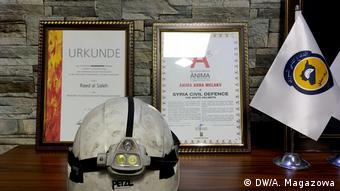 Türkei   Im Büro der Organisation Weiße Helme