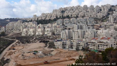 In Har Homa wird eine neue Siedlung gebaut. (Foto: picture alliance/newscom/D. Hill)