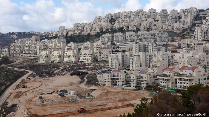 Israel Siedlung im Westjordanland (picture alliance/newscom/D. Hill)