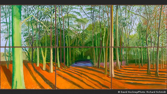 Woldgate Woods, 6 & 9 November 2006 | David Hockney (David Hockney/Photo: Richard Schmidt)
