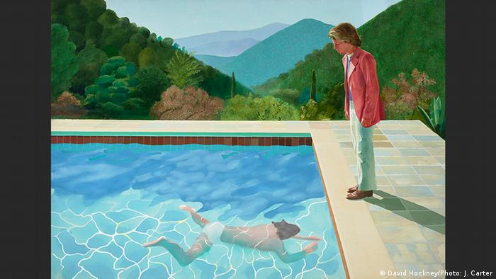 Portrait of an Artist (Pool with Two Figures) | David Hockney (David Hockney/Photo: J. Carter)