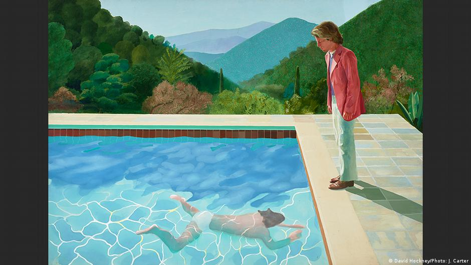Der k nstler mit den swimmingpools david hockney zum 80 - Swimming pool in spanish language ...