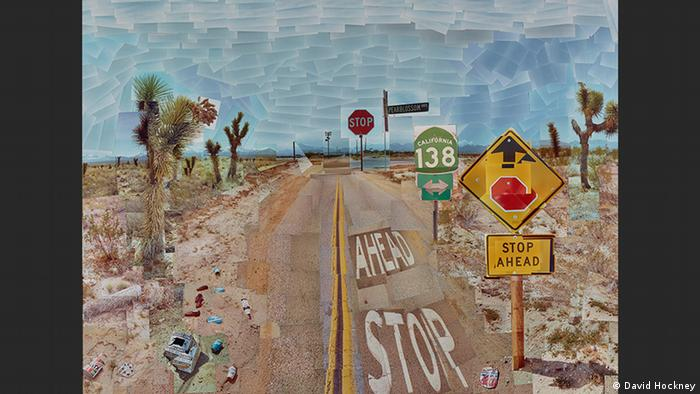 Pearblossom Hwy., 11-18th April 1986 #1 | David Hockney (David Hockney)