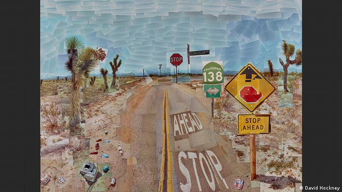 Pearblossom Highway, 11-18th April 1986 #1 | David Hockney (David Hockney)