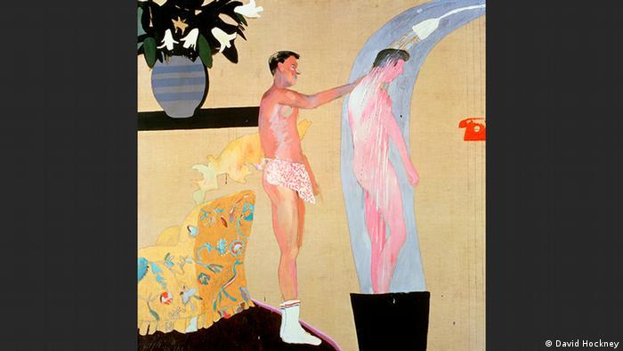 Domestic Scene, Los Angeles   David Hockney (David Hockney)