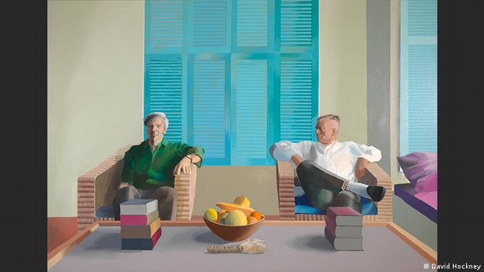 Christopher Isherwood and Don Bachardy | David Hockney (David Hockney)