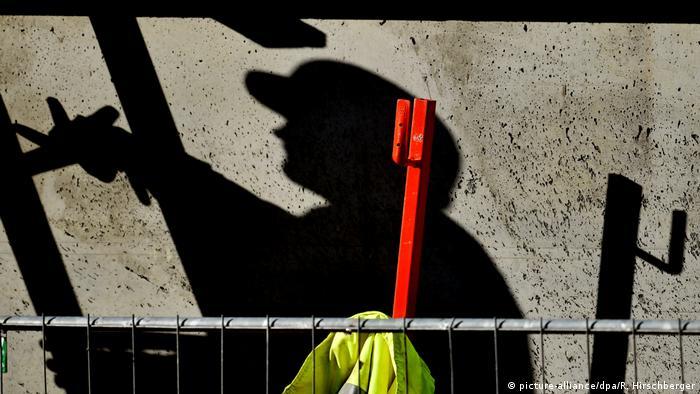 Deutschland Baustelle Schwarzarbeit