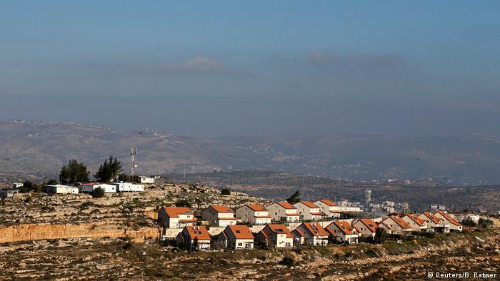 Die israelische Siedlung Palgey Maim in Westjordanland. (Foto: Reuters/B. Ratner)