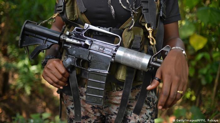 ELN, grupo guerrillero colombiano.
