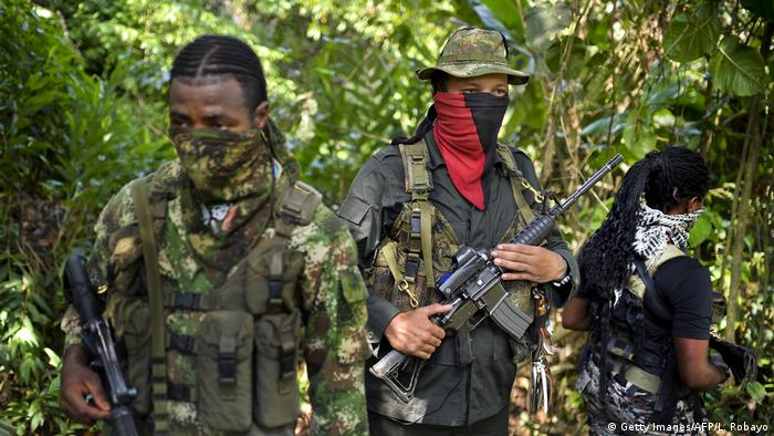 Kolumbien Guerillagruppe ELN (Getty Images/AFP/L. Robayo)