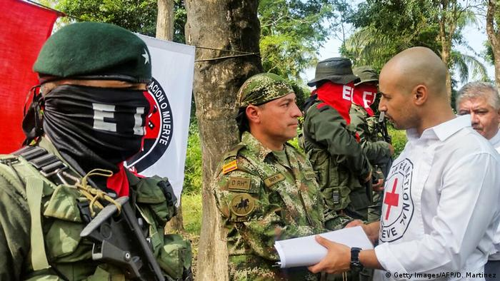 Kolumbien Guerillagruppe ELN (Getty Images/AFP/D. Martinez)