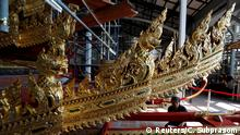 06.02.2017*****Thai officials from the Conservation Science Division of the Fine Arts Department of the National Museum of Thailand repairs the Royal Chariot, which will be used during the late King Bhumibol Adulyadej's funeral later this year, Thailand, February 6, 2017. Picture Taken February 6, 2017. REUTERS/Chaiwat Subprasom