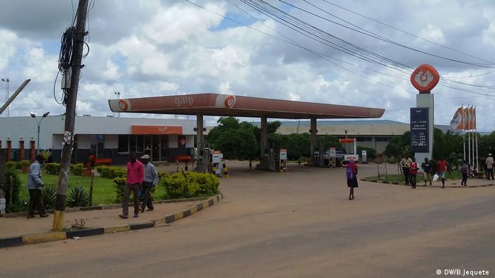 Mosambik Tankstelle GALP (DW/B.Jequete )