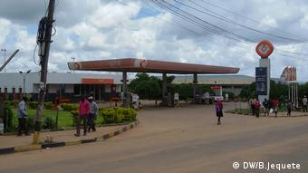 Mosambik Tankstelle GALP