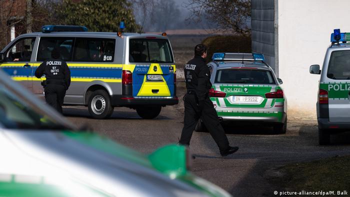 Полицейская спецоперация в Баварии