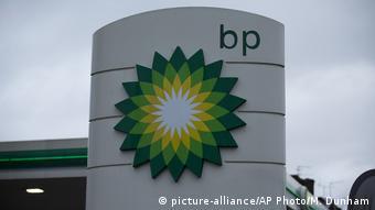 Großbritannien Tankstelle BP