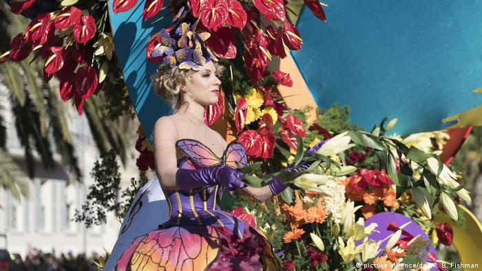 Karneval in Nizza (picture-alliance/dpa/R. B. Fishman)