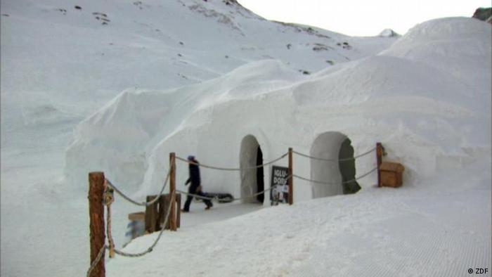 An Igloo Hotel in Switzerland