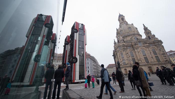 Монумент в Дрездене