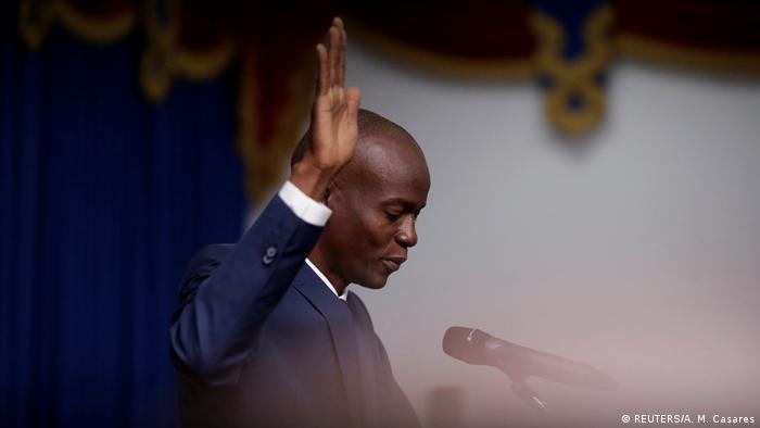 Haiti | Vereidigung von Präsident Jovenel Moise (REUTERS/A. M. Casares)