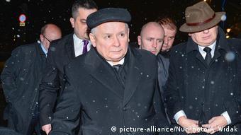 Polen Jaroslaw Kaczynski in Warschau