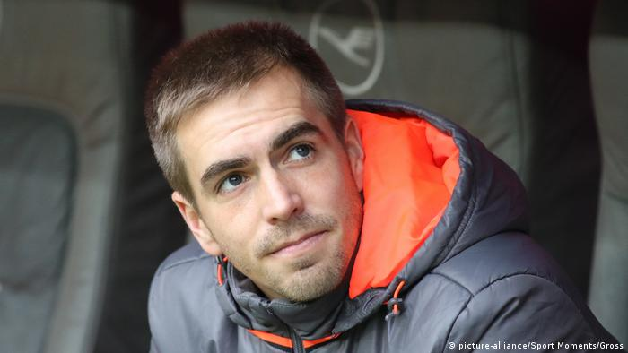 Deutschland Bundesliga - Philipp Lahm - FC Bayern München - FC Schalke 04 (picture-alliance/Sport Moments/Gross)