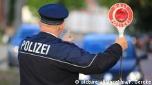 Deutschland Polizeikontrolle