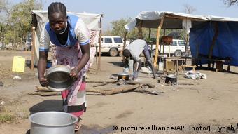 Uganda - Flüchtlingscamp
