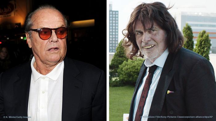Kombi-Bild Jack Nicholson und Peter Simonischek als Toni Erdmann