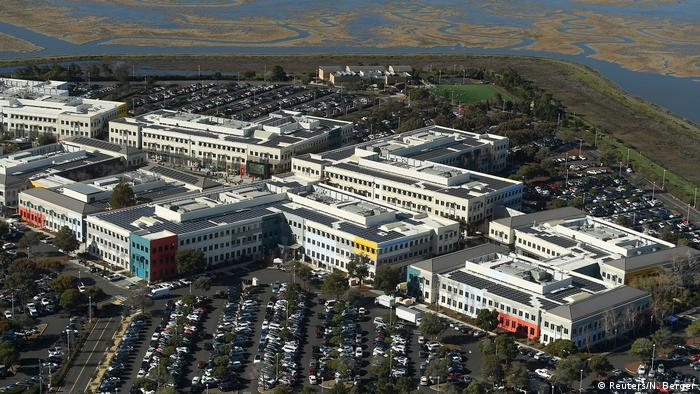 USA Silicon Valley in Kalifornien - Luftaufnahmen (Reuters/N. Berger)