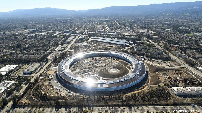 USA Silicon Valley in Kalifornien - Luftaufnahmen