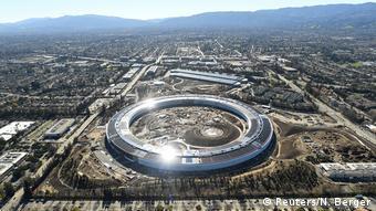 Строительство кампуса Aplle в Silicon Valley