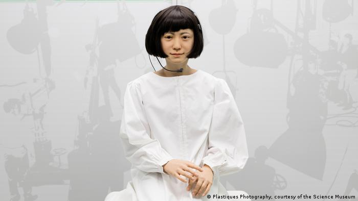 Japanese Kodomoroid, Robots exhibition, Science Museum in London (Plastiques Photography, courtesy of the Science Museum)
