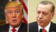 Bild-Kombo Trump Erdogan