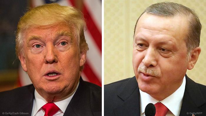 Дональд Трамп і Реджеп Таїп Ердоган