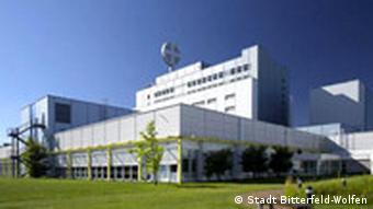 Bayer factory in Bitterfeld