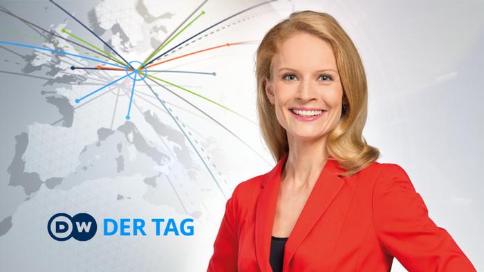 DW Der Tag Moderatorin Julia Hahn (Detailseite)