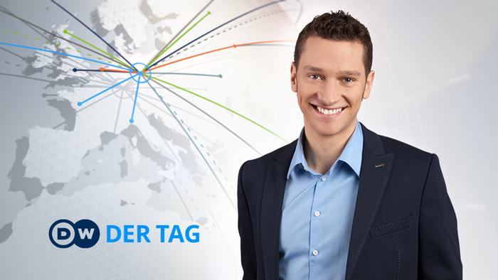 DW Der Tag Moderator Florian Zschiedrich (Detailseite)
